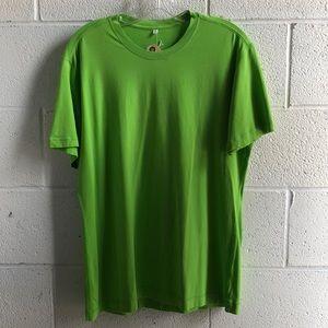 Lululemon men's green s/s top sz L 60741